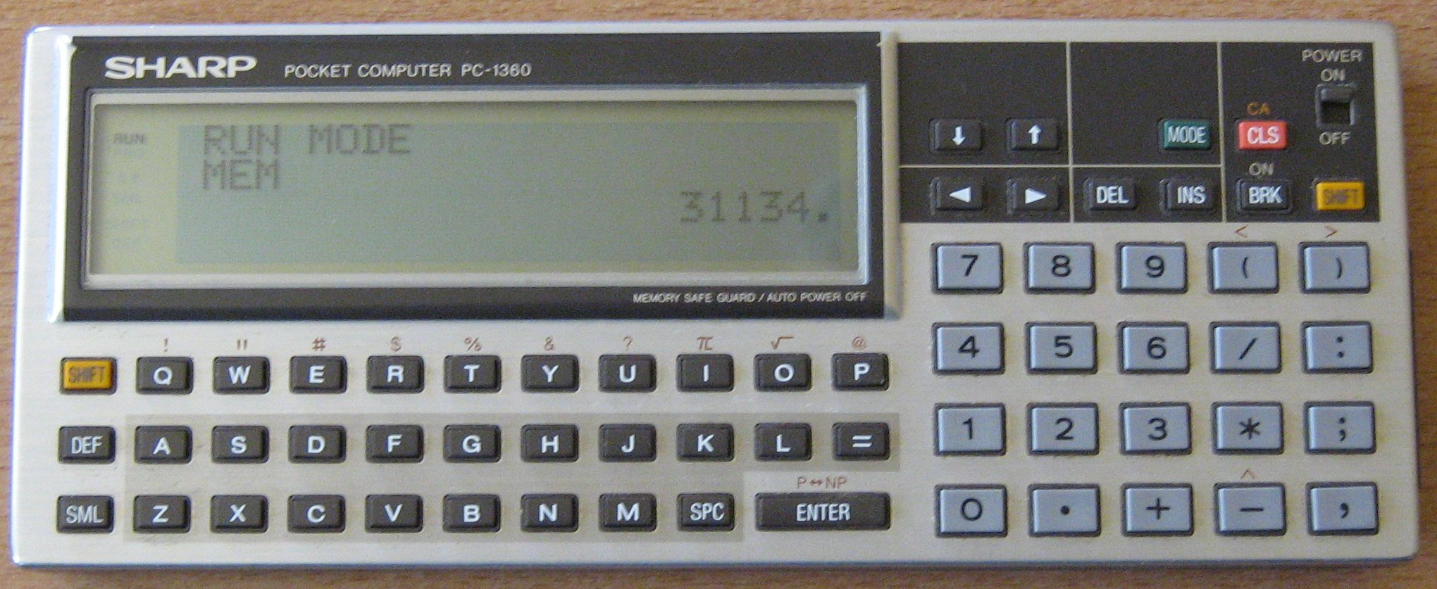 Sharp PC 1360