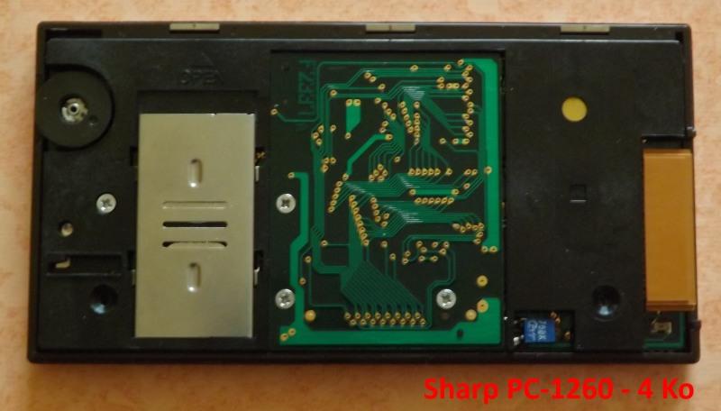 Sharp PC-1260 4 Ko