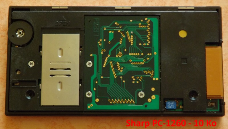 Sharp PC-1260 10 Ko