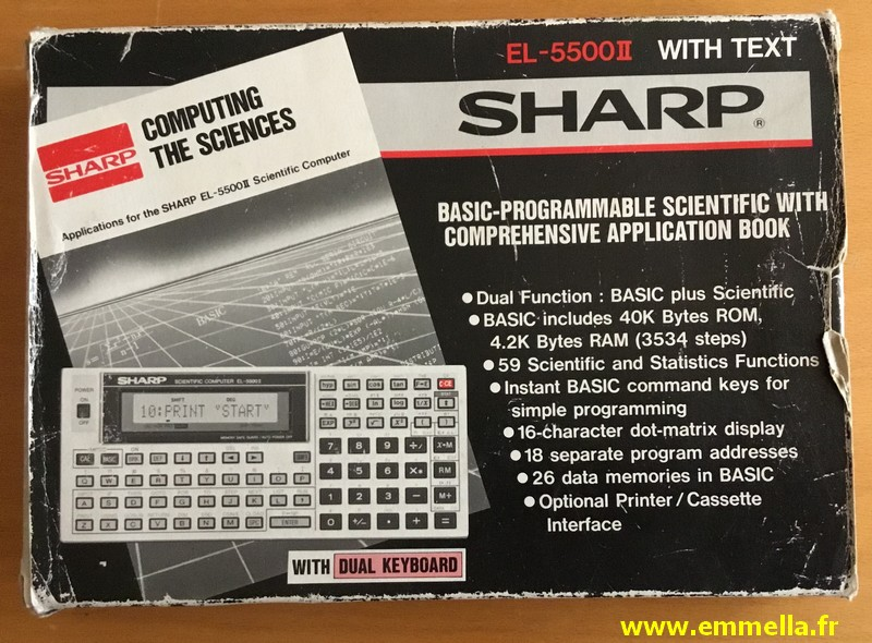 Sharp EL-5500 II