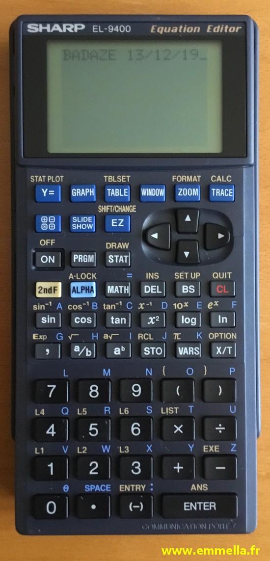 Sharp EL-9400