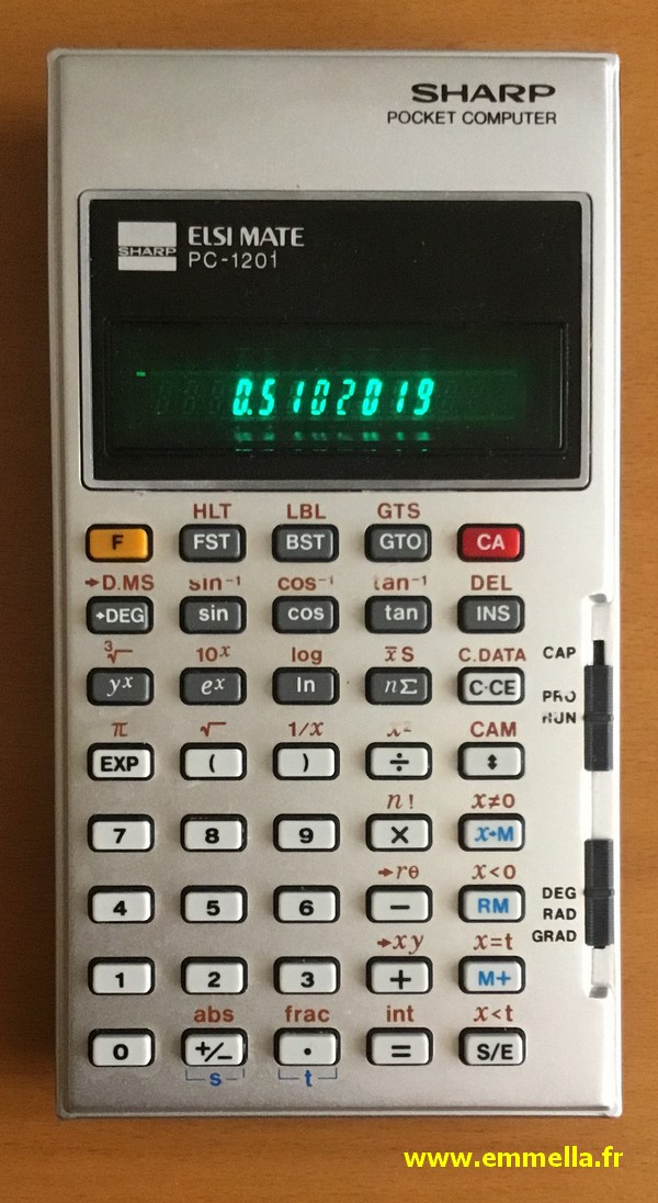 Sharp PC-1201