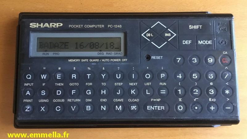 Sharp PC-1248