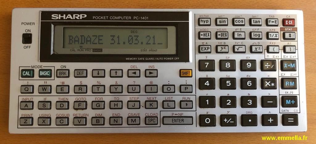 Sharp PC-1401