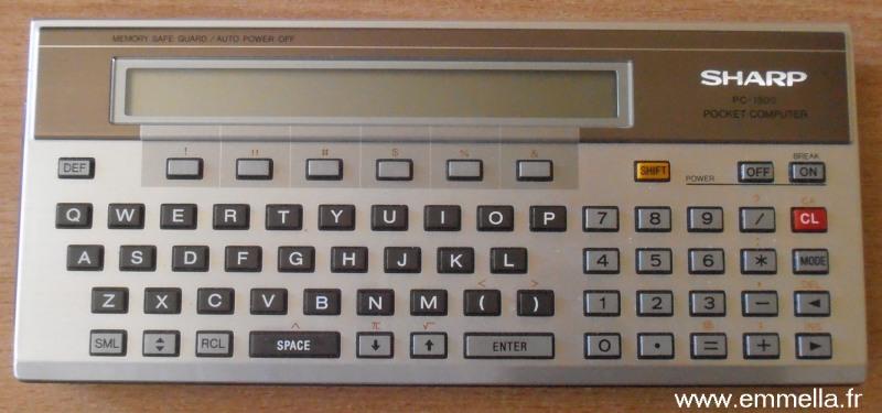 Sharp PC 1500