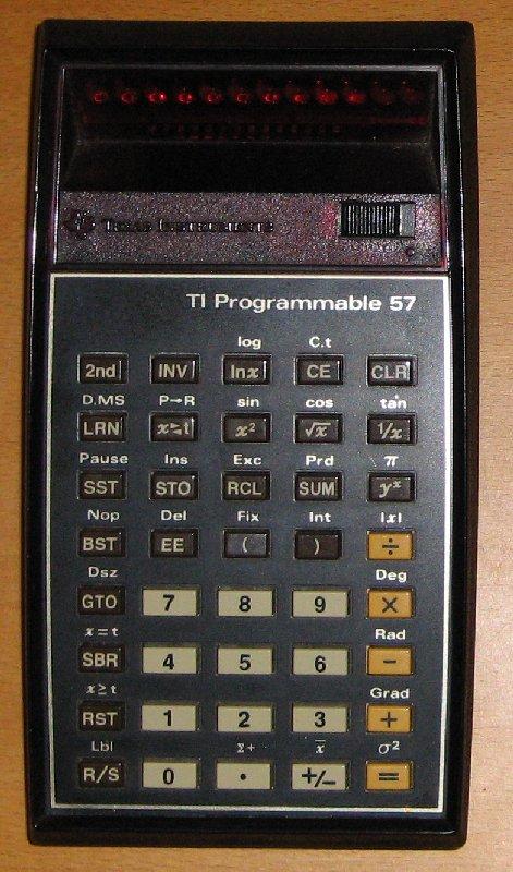 TI 57 (LED)