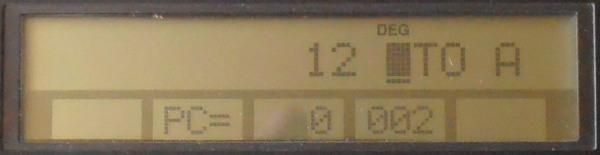 Affichage TI 95