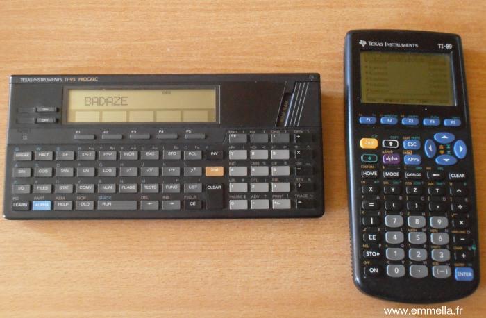 TI 95 & TI 89