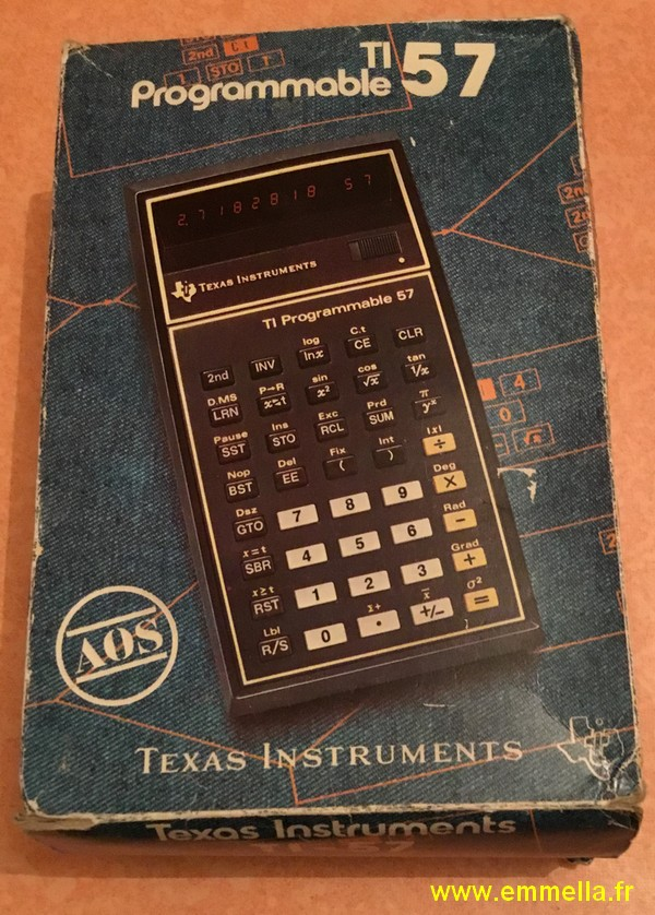 Texas Instruments TI 57