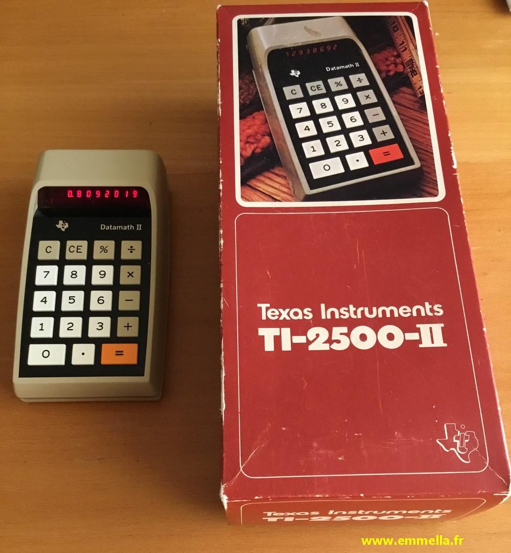 Texas Instruments TI 2500 II