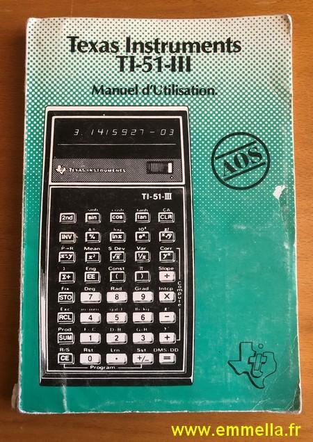 Texas Instruments TI 51 III