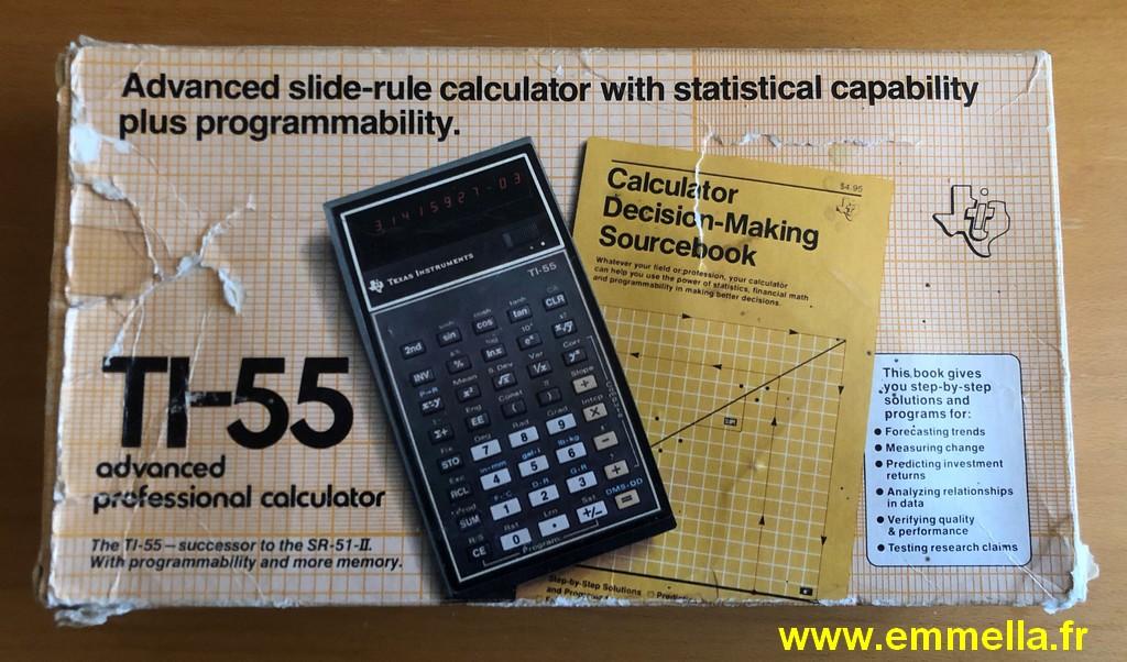 Texas Instruments TI 55