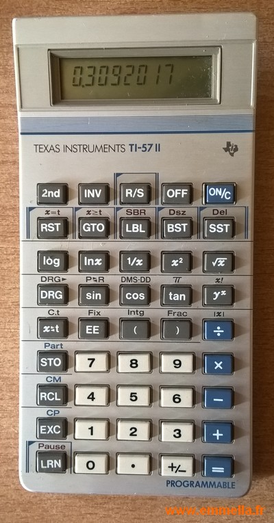 Texas Instruments TI 57 II