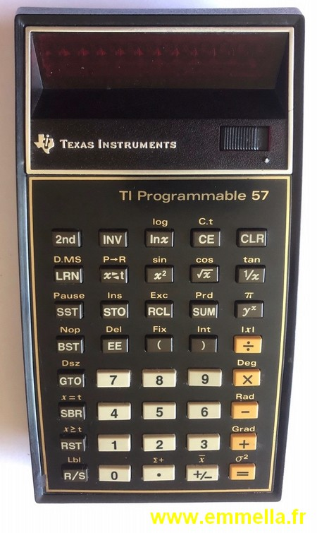 TI 57 LED