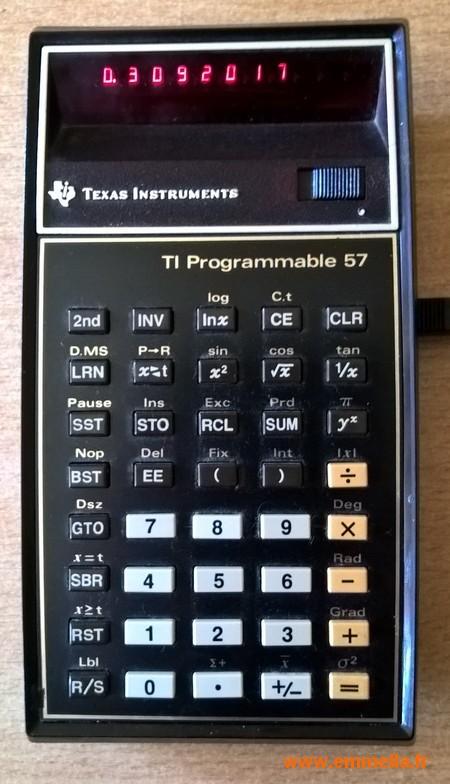 Texas Instruments TI 57 LED