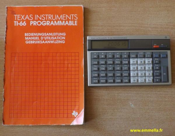 Texas Instruments TI 66