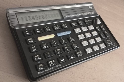 Texas Instruments TI-67 Galaxy