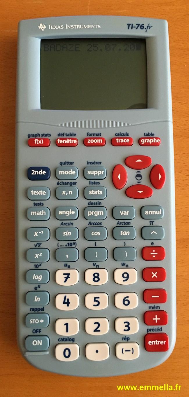 Texas Instruments TI 76