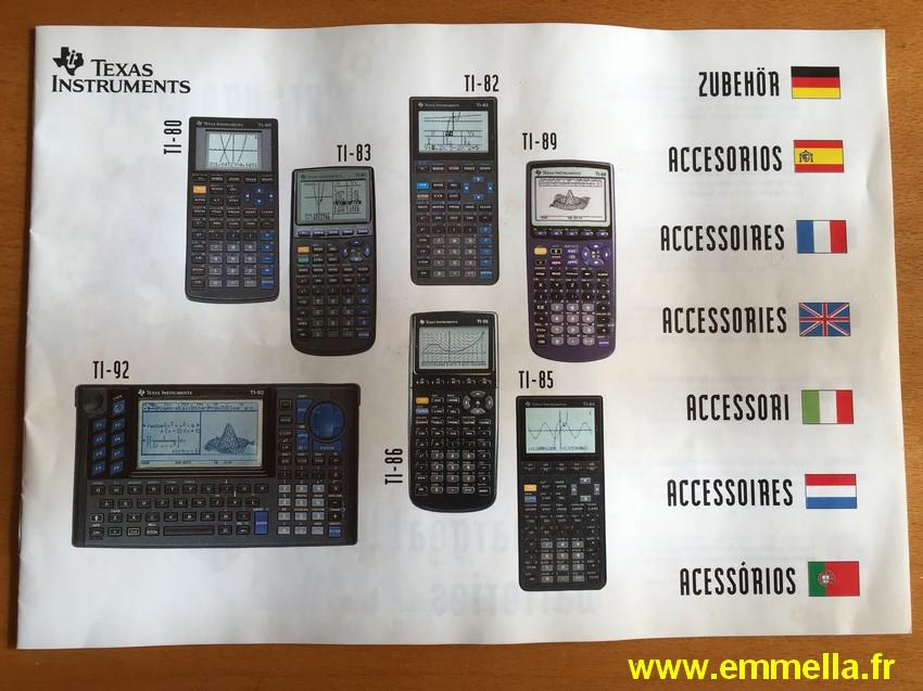 Texas Instruments TI 86
