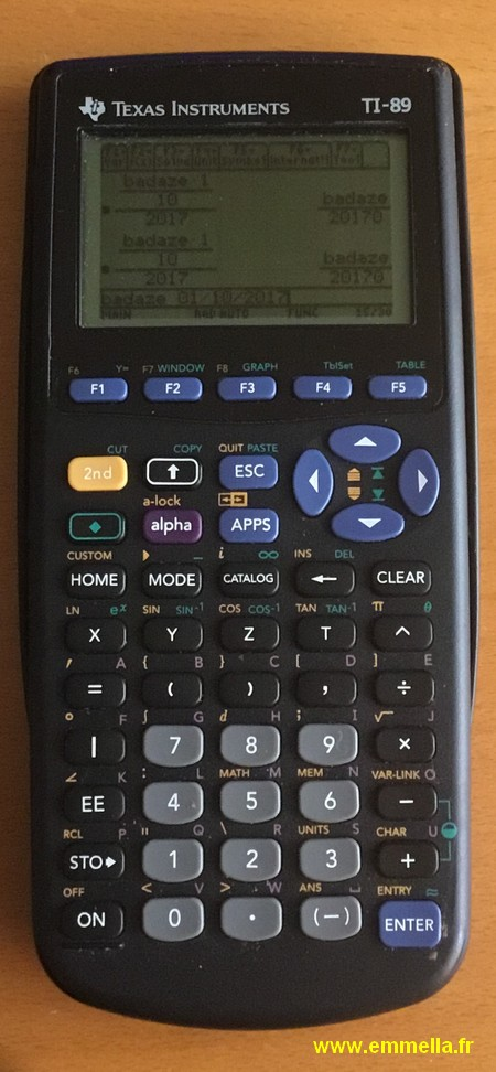 Texas Instruments TI 89