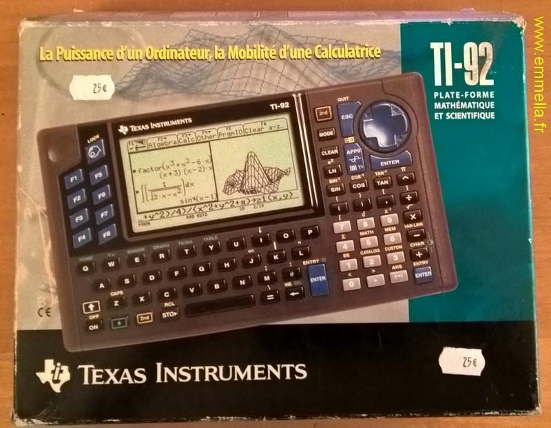 Texas Instruments TI 92