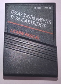 Module Texas Instruments Learn Pascal
