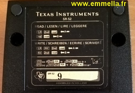 Texas Instruments TI SR 52