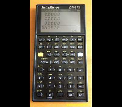 SwissMicros DM41X