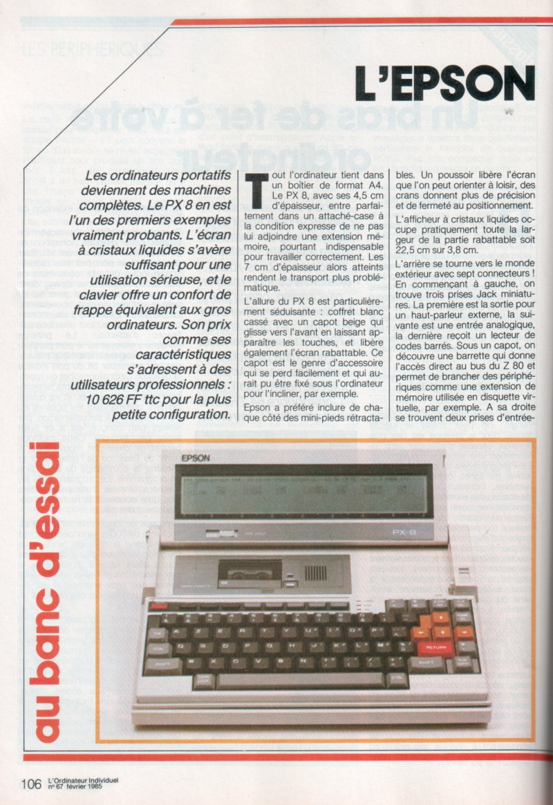 Epson PX-8