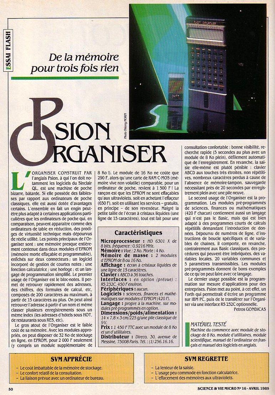 Psion Organizer