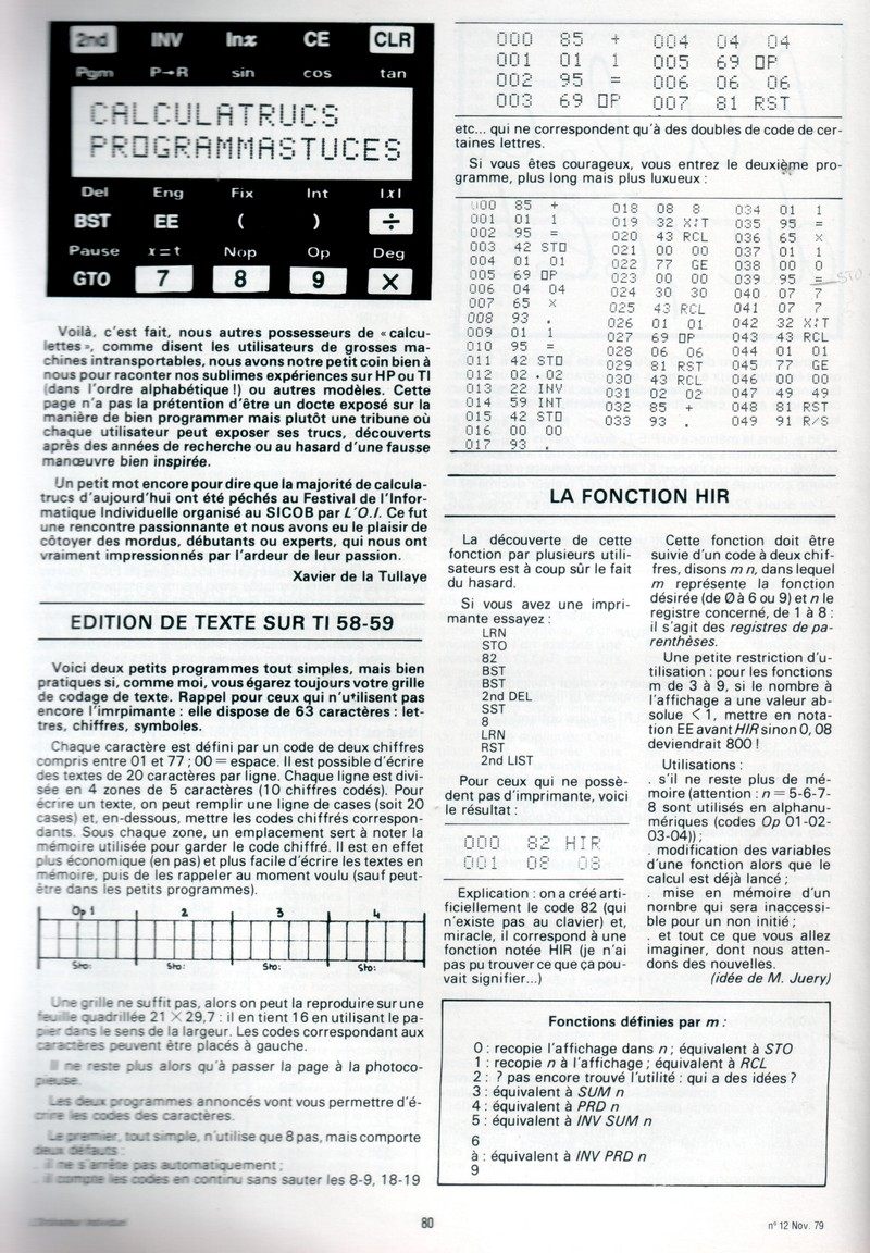 Texas Instruments TI 58/59